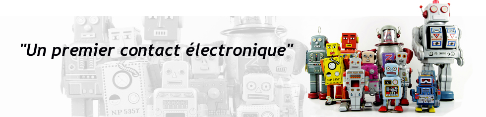 Un premier contact électronique