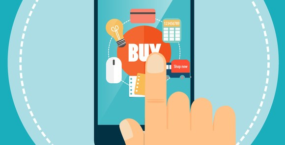 Boutique en ligne mobile