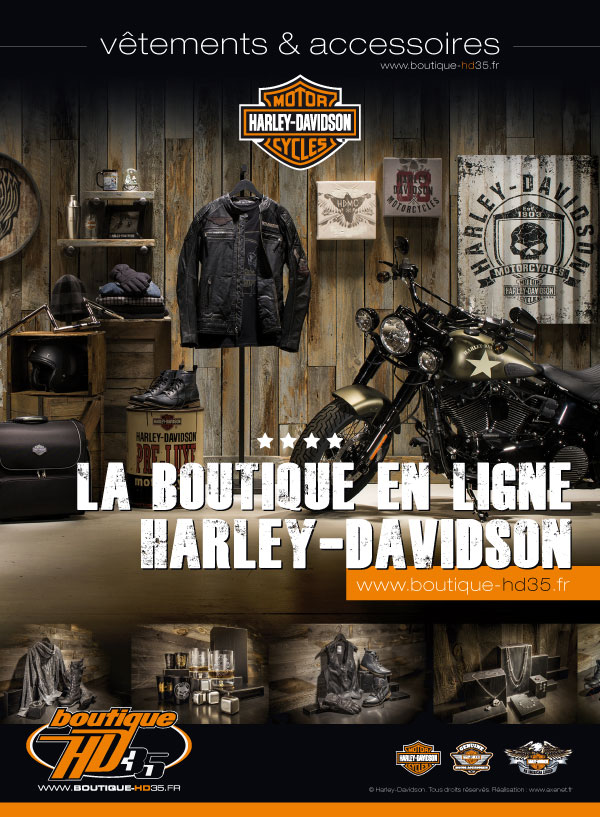 cr ation du site e commerce harley davidson. Black Bedroom Furniture Sets. Home Design Ideas