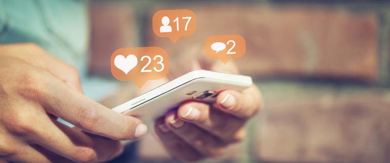 Votre présence sur les médias sociaux